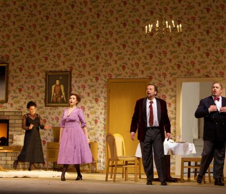 Sonia Ganassi, Adrianne Pieczonka, Franco Farina & Giacomo Prestia - Don Carlos par Peter Konwitschny