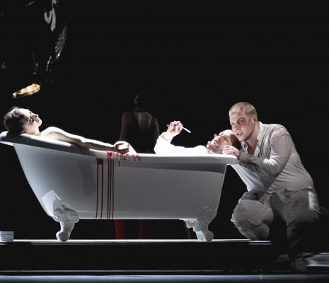 Nikolay Borchev et Michael Nagl dans Don Giovanni