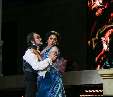 Jean-Luc Ballestra & Deniz Yetim - Tosca par Agnès Jaoui