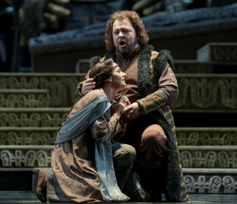 Verónica Cangemi & Kristian Benedikt - Turandot par Roberto Oswald
