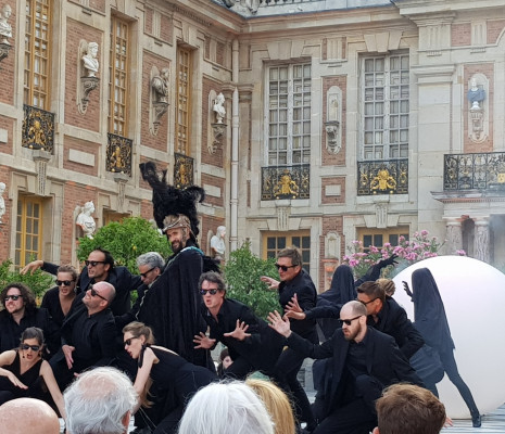Les Arts Florissants dans la Cour de Marbre à Versailles