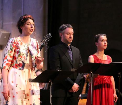 Ève-Maud Hubeaux, Cyril Auvity & Ambroisine Bré