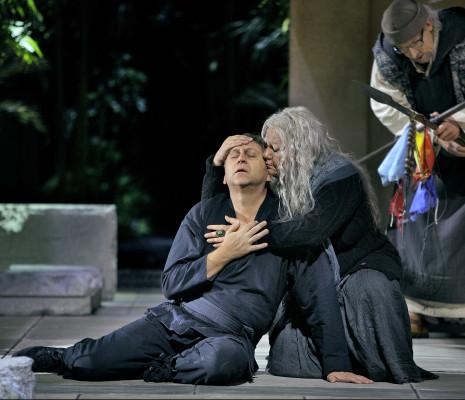 Andreas Schager, Elena Pankratova et Günther Groissböck - Parsifal par Uwe-Eric Laufenberg à Bayreuth
