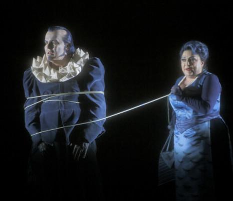 Tomasz Konieczny et Elena Pankratova - Lohengrin par Yuval Sharon à Bayreuth
