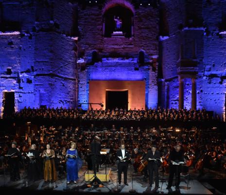 Symphonie des Mille de Mahler aux Chorégies d'Orange