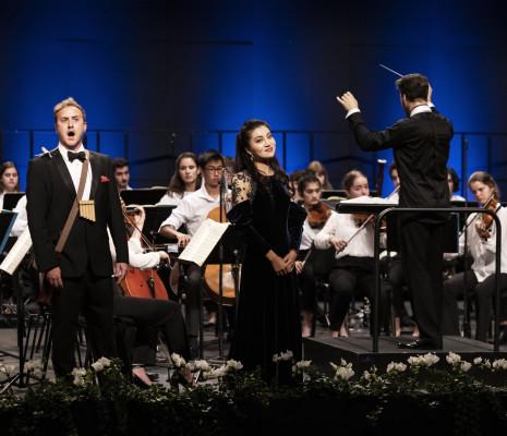 Julien Van Mellaerts et Meigui Zhang - La Flûte enchantée à Verbier