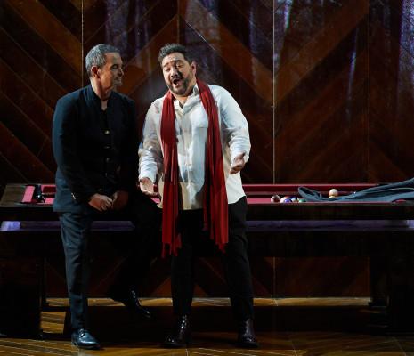 Vicenç Esteve et René Barbera - La Traviata par Paco Azorín au Festival Peralada