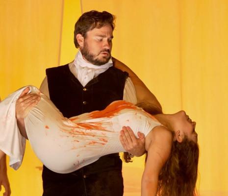 Christian Bowers et Nicola Said - Lucia di Lammermoor par Denise Mulholland