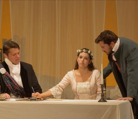 Tyler Nelson, Nicola Said & Christian Bowers - Lucia di Lammermoor par Denise Mulholland