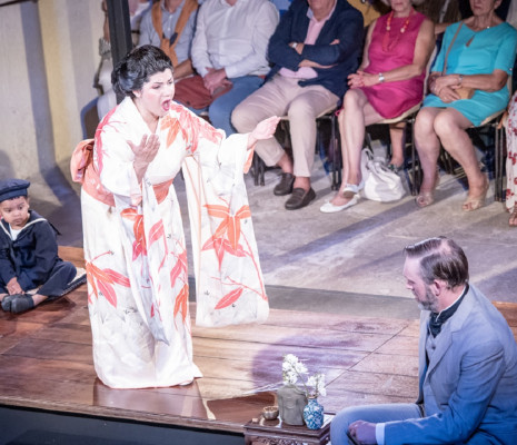 Susana Gaspar et Philip Smith - Madame Butterfly au Festival de la Vézère