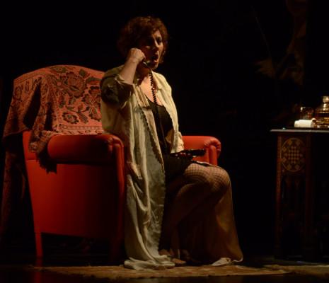 Elisa Calvo - La Voix humaine par Antonio Leiva