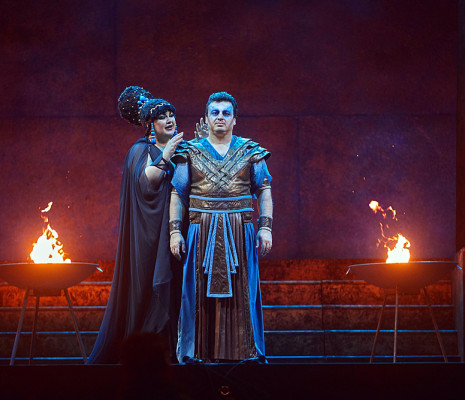 Olesya Petrova & Irakli Kakhidze - Aida par Jean-Christophe Mast