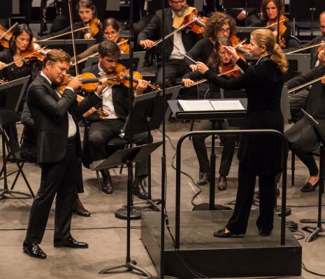 Renaud Capuçon, Kristiina Poska & Orchestre national de Lyon