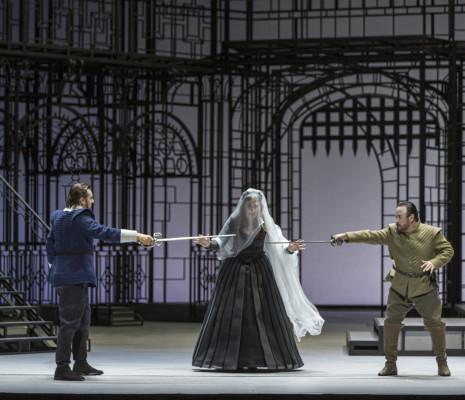 Igor Golovatenko, Gemma Ní Bhriain & Javier Camarena - Les Puritains par Laurent Pelly