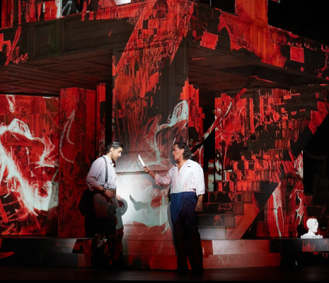 Erwin Schrott & Roberto Tagliavini - Don Giovanni par Kasper Holten