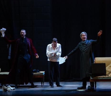 Jérôme Varnier, Marc Mauillon & Nicolas Cavallier - Les Contes d'Hoffmann par Vincent Huguet