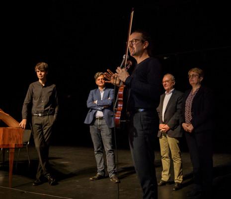 Justin Taylor, Alessandro di Profio, Julien Chauvin, Jacques Portier & Sophie Arsène