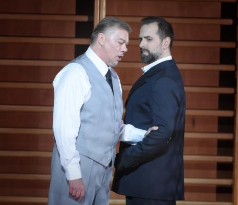 René Pape & Étienne Dupuis - Don Carlo par Krzysztof Warlikowski