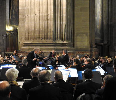Hugues Reiner - Requiem de Verdi à l'Église Saint-Sulpice