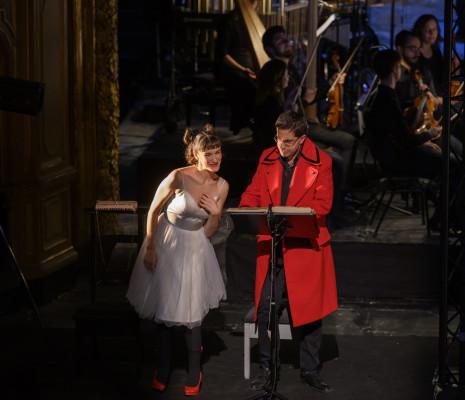 Sarah Defrise et Shasi Torbey dans Candide