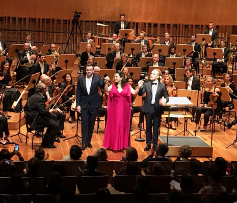 Benjamin Bernheim, Adriana Gonzalez & Oleksandr Yankevych