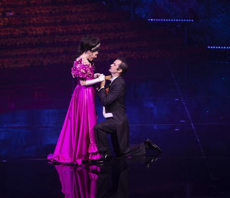 Lina Mendes & Anibal Mancini - La Veuve joyeuse par Miguel Falabella