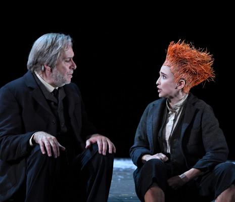 Amélie Tatti et Bernard Alane dans Poil de Carotte