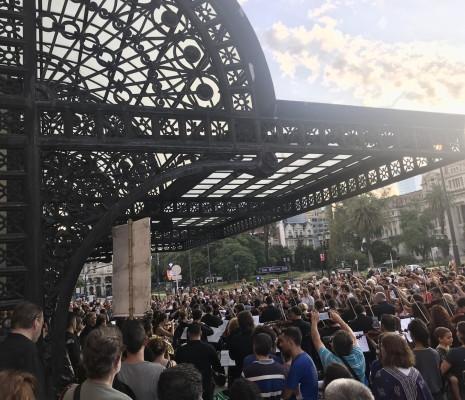 Concert Impromptu - Manifestation Teatro Colón