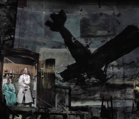 Peter Mattei & Christian Van Horn - Wozzeck par William Kentridge