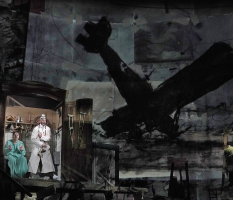 Peter Mattei & Christian Van Horn - Wozzeck par William Kentridge