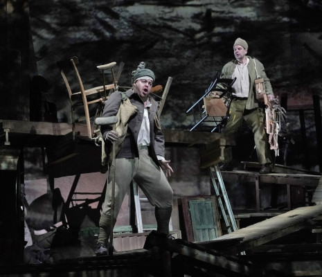 Andrew Staples & Peter Mattei - Wozzeck par William Kentridge