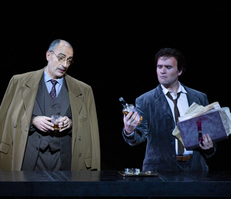Laurent Naouri & Michael Fabiano - Les Contes d'Hoffmann par Robert Carsen