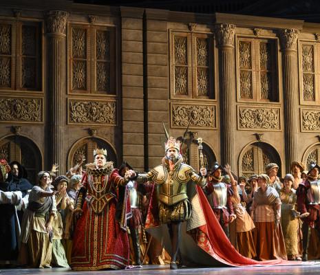 Yolanda Auyanet & Ildebrando d'Arcangelo - Don Carlos par Stefano Mazzonis di Pralafera