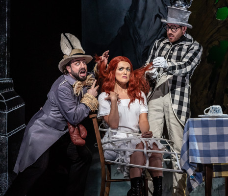 Peter Tantsits, Claudia Boyle & Sam Furness - Alice's Adventures Under Ground