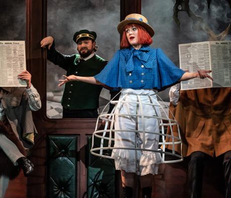 Peter Tantsits & Claudia Boyle - Alice's Adventures Under Ground