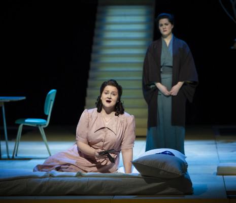 Elisabeth Teige & Desirée Baraula - Madame Butterfly par Stephen Langridge