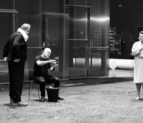Calixto Bieito & Ekaterina Gubanova - L'Or du Rhin par Calixto Bieito en répétitions