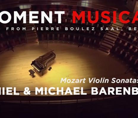 Moment Musical de Berlin, Daniel Barenboim - Pierre Boulez Saal