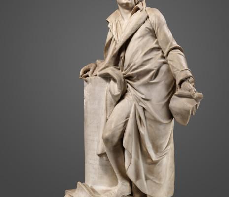 Sculpture d'André Grétry par Jean-Baptiste Stouf