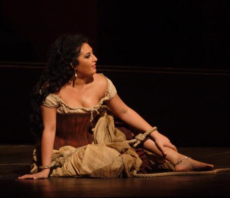 Anita Rachvelishvili dans Carmen