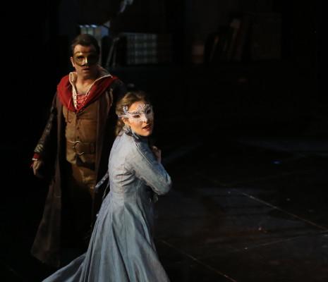Kimy Mc Laren (Juliette) et Florian Laconi (Roméo)