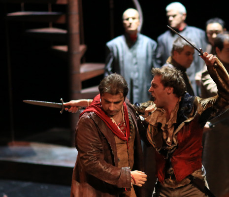 Florian Laconi (Roméo), Mikhael Piccone (Mercutio)