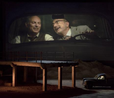 Charles Workman (Faust) et Laurent Naouri (Méphistophélès)