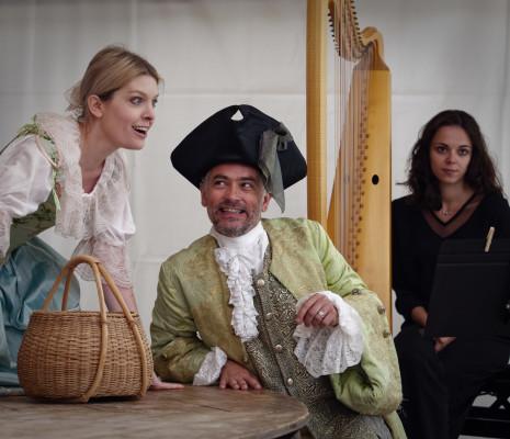 Jenny Daviet, Arnaud Marzorati et Pernelle Marzorati