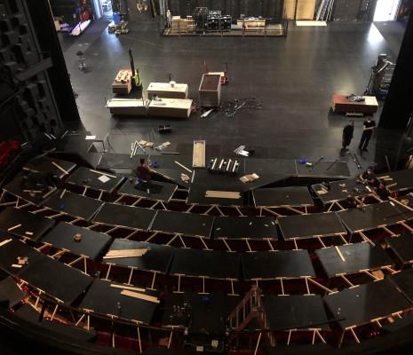 Fosse - Plateforme, Opéra de Rouen
