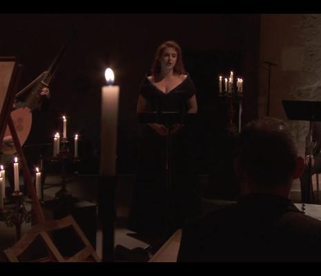 Eva Zaicik, récital à la bougie