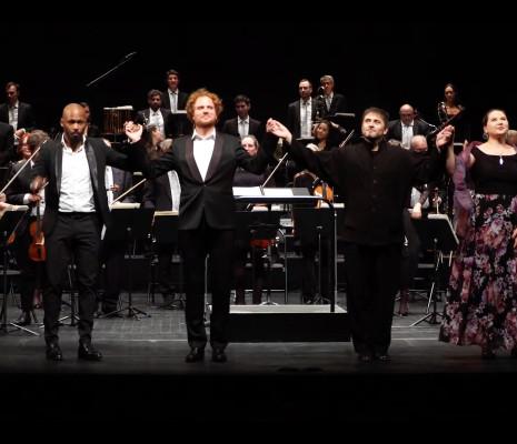 Mathieu Justine et Anas Séguin, Philippe Forget, Diana Axentii & Orchestre de l'Opéra de Limoges