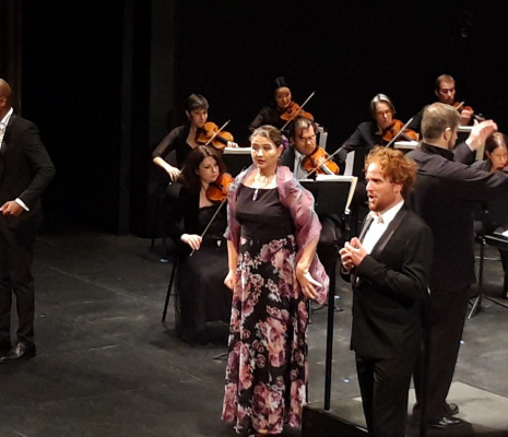 Anas Séguin, Diana Axentii, Mathieu Justine & Orchestre de l'Opéra de Limoges