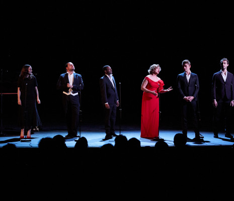 Chiara Skerath, Florian Sempey, Loïc Félix, Doris Lamprecht, Louis de Lavignère et Guilhem Worms au Concert UNiSSON