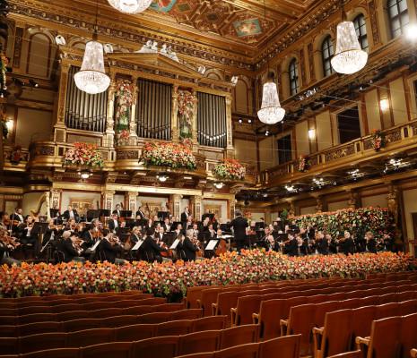 Concert du Nouvel An 2021 à Vienne